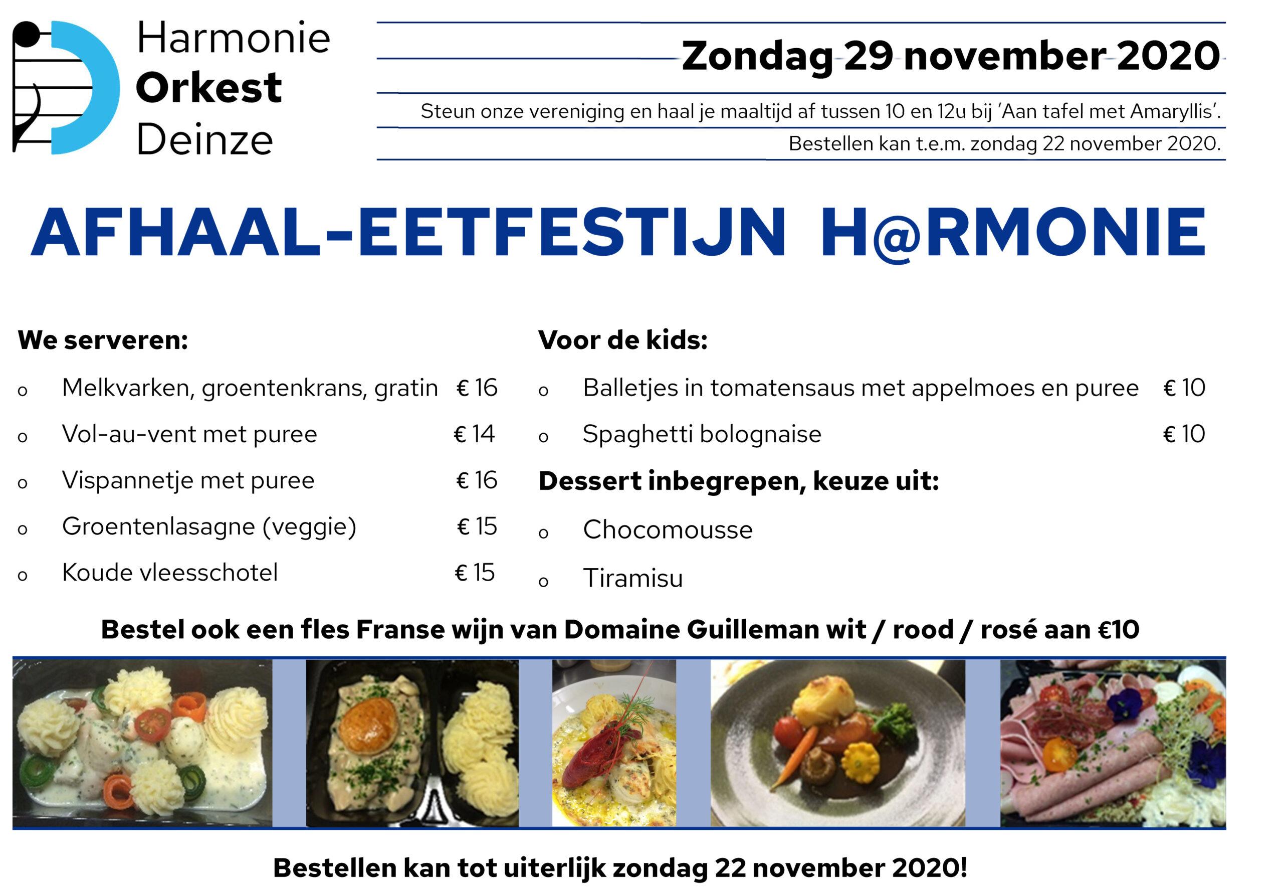 Afhaal-eetfestijn H@rmonie